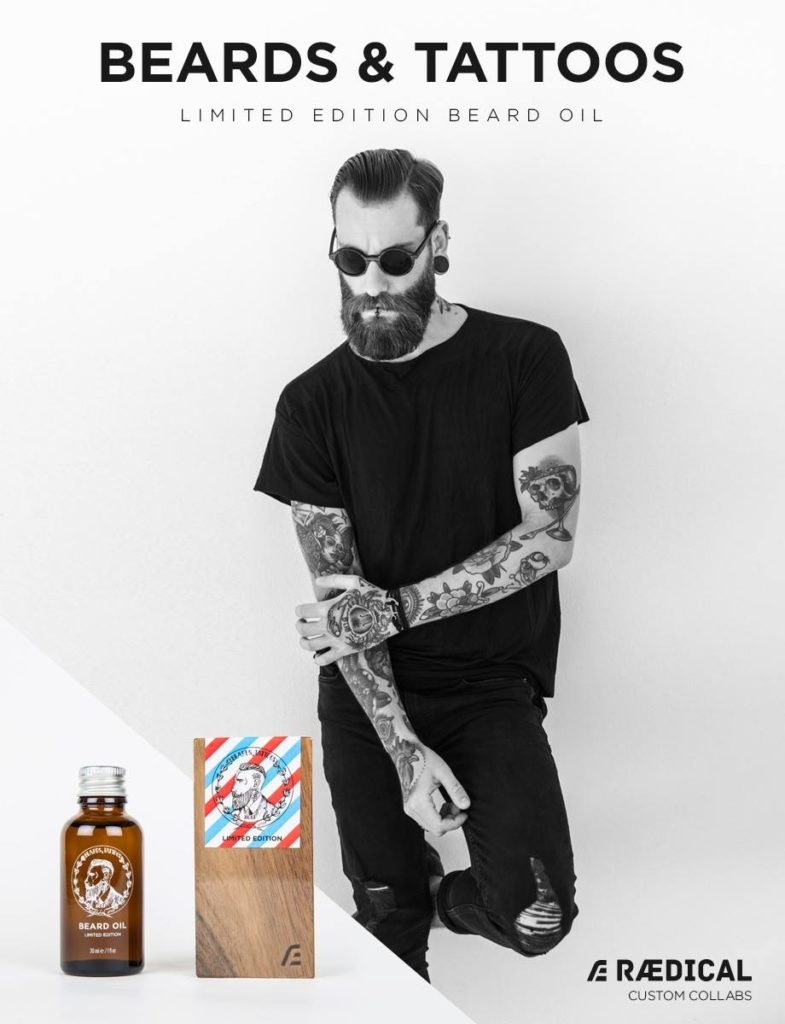 Beards and Tattoos - Beard Oil – Bartöl Limited Edition